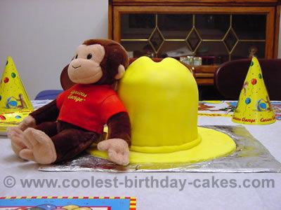 Coolest curious george birthday cake ideas for Curious george cake template