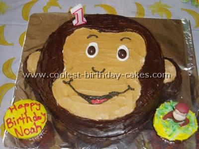 Curious George Cake