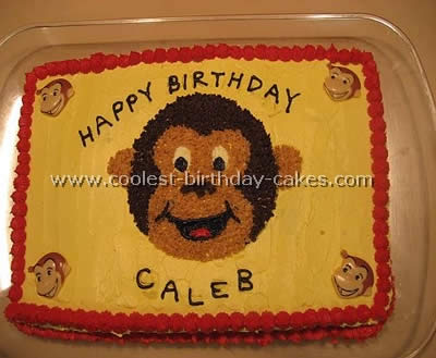 Coolest Curious George Birthday Cake Ideas