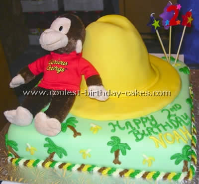 curious george birthday cake coolest curious george cake photos and tips 3236