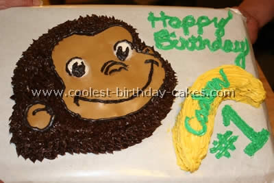 Coolest curious george cake photos and tips for Curious george cake template