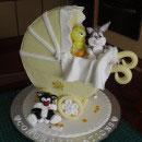 Bassinet/Stroller Birthday Cakes