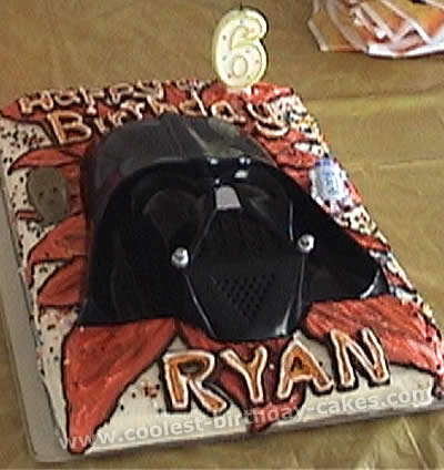 Coolest Homemade Darth Vader Cakes