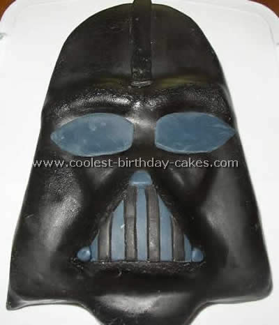 Darth Vader Picture Cake