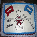 Martial Arts Birthday Cakes