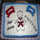 Martial Arts Birthday Cakes
