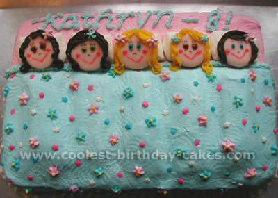 Coolest Homemade Slumber Cakes