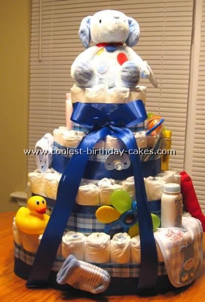 Diaper Cake Instructions
