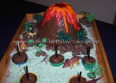 Coolest dinosaur birthday cake photos and how to tips