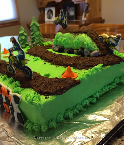 Coolest Dirt Bike Cake Ideas