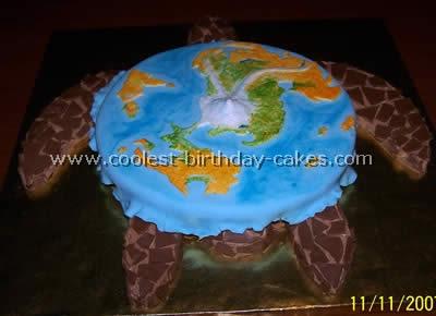 Discworld Cake Photo