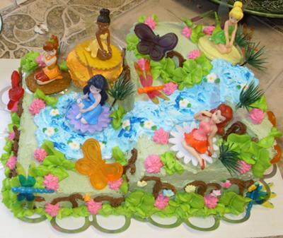 Disney Birthday Cakes on Disney Fairies