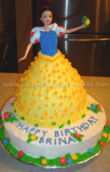 Coolest Homemade Snow White Cakes