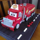Mack Truck Birthday Cakes