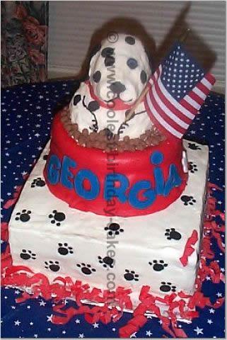 Coolest Homemade Dalmatian Dog Birthday Cake Recipe Ideas And Photos 4