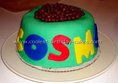 Dog Bowl Cake