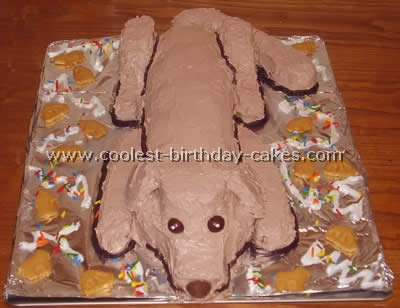 Coolest Dog Cake