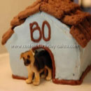 Dog Houses Birthday Cakes
