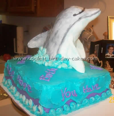Dolphin Picture Cake Ideas And How To Tips