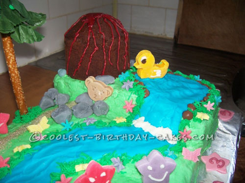 Coolest Dora Scene Cake for a 3-Year Old Girl