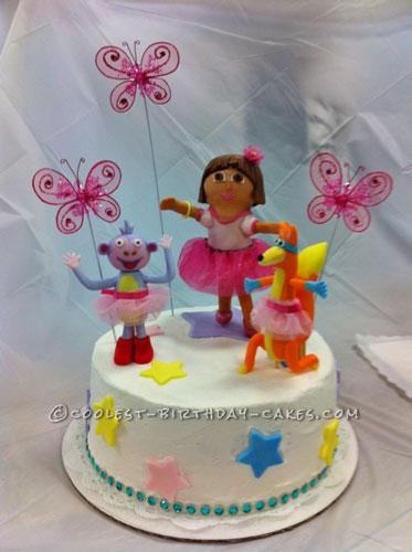 Dreamy Dora Ballerina Cake