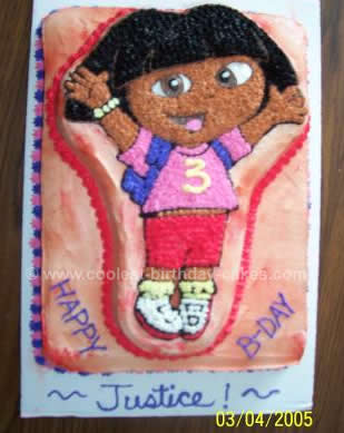 Coolest Dora The Explorer Cake Ideas And Dora Cake Inspiration