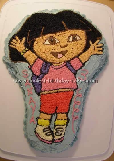 Dora the Explorer Birthday Cake Photo