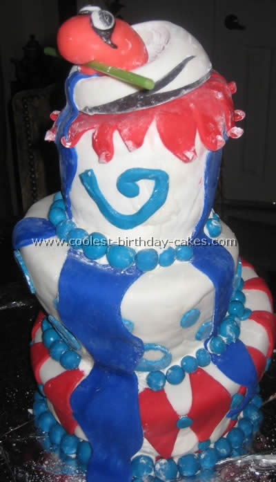 Dr Seuss Birthday Cake Photo