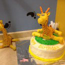 Giraffe Birthday Cakes