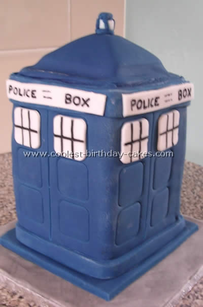 Dr Who Cake Photo