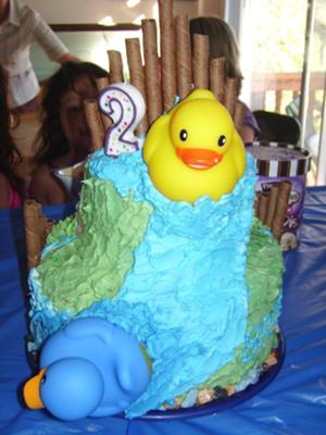 Ducky Cake
