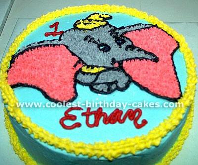Dumbo Cake Photo