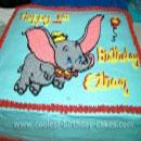 Dumbo Birthday Cakes