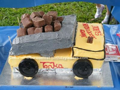 Coolest Tonka Truck Birthday Cake