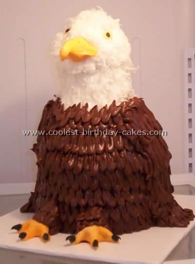 Eagle Cake Photo