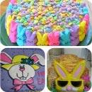 Easter Bunny Birthday Cakes