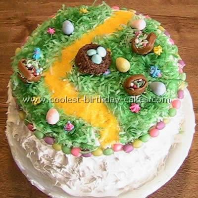 Basket Easter Cakes