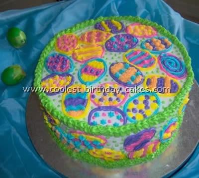 Easter Eggs Cake