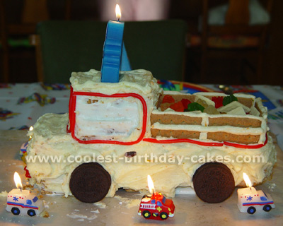 Coolest Homemade PickUp Truck Cakes