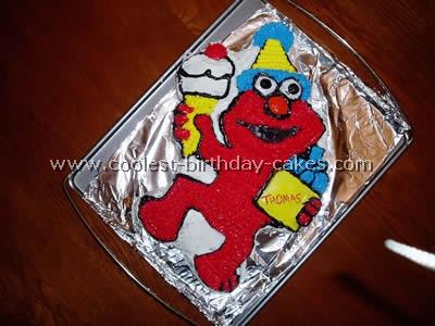 Elmo Cake Photo