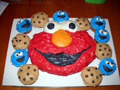Wilton Instructions For Elmo Cake i Used The Wilton Elmo Cake