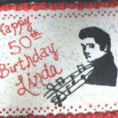Elvis Birthday Cakes