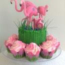 Flamingo Birthday Cakes