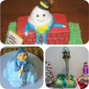 Fairytale Character Cakes