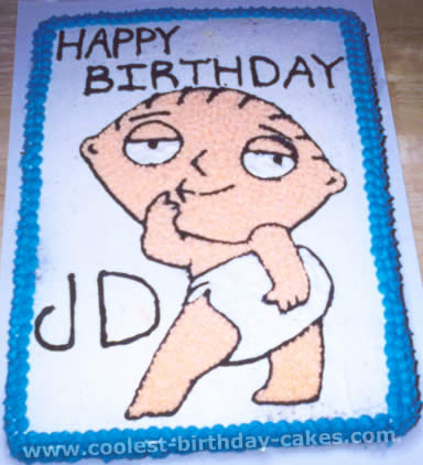 Family Guy Picture Cake