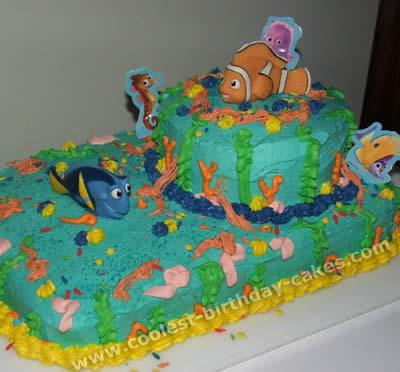 Finding Nemo Cake Photo