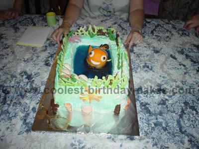 Finding Nemo Cakes