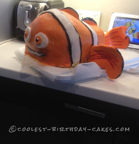 Coolest 3rd Birthday Nemo Cake