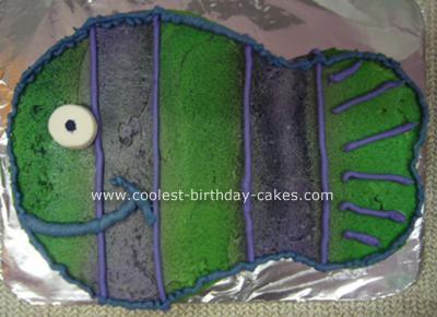 Fish in the Ocean Cake