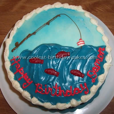 Fishing Cake Photo
